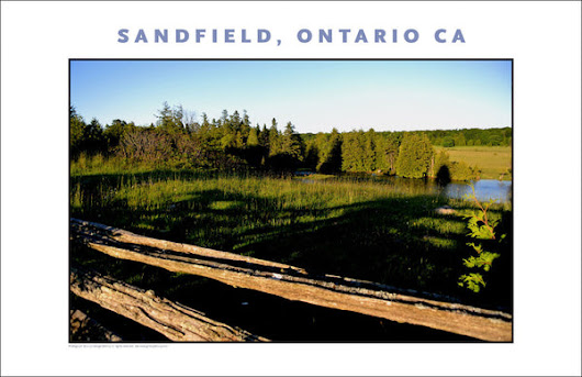 Walking the Blue Jay, Sandfield, Ontario Canada 682 – Gallery Delany