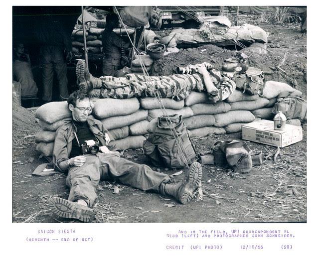 1966 Saigon Siesta Soldiers in the Field Photographer John Schneider