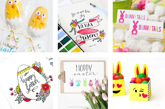 27 of the BEST Easter Printables and Tutorials - Printable Crush