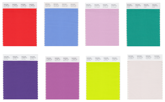 Pantone's Fashion Color Report for Spring 2018 is Here
