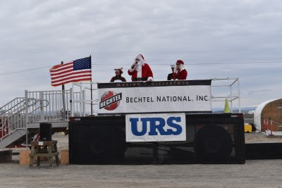 Marines accept toys, $29,000 for Toys for Tots at Vit Plant | Hanford Vit Plant