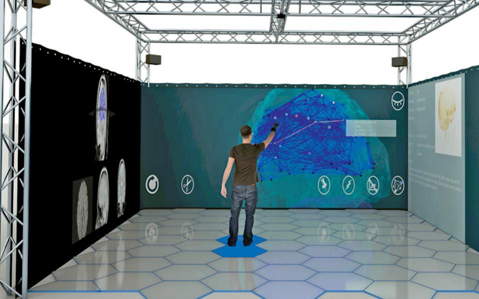 Σε ένα ειδικά διαμορφωμένο δωμάτιο στη Βαρκελώνη, εξοπλισμένο με πλήθος αισθητήρων, επιστήμονες ερευνούν τις συνειδητές και υποσυνείδητες αντιδράσεις του ανθρώπου στην πρόσληψη μαζικών δεδομένων και πληροφοριών.
