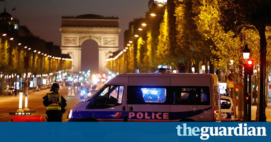 Paris shooting: French policeman killed on Champs Élysé​e​s | World news | The Guardian