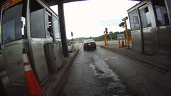 toll booth on I-77