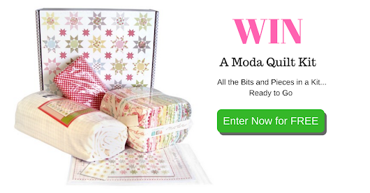 Win an Moda Quilt Kit! Free Entry!