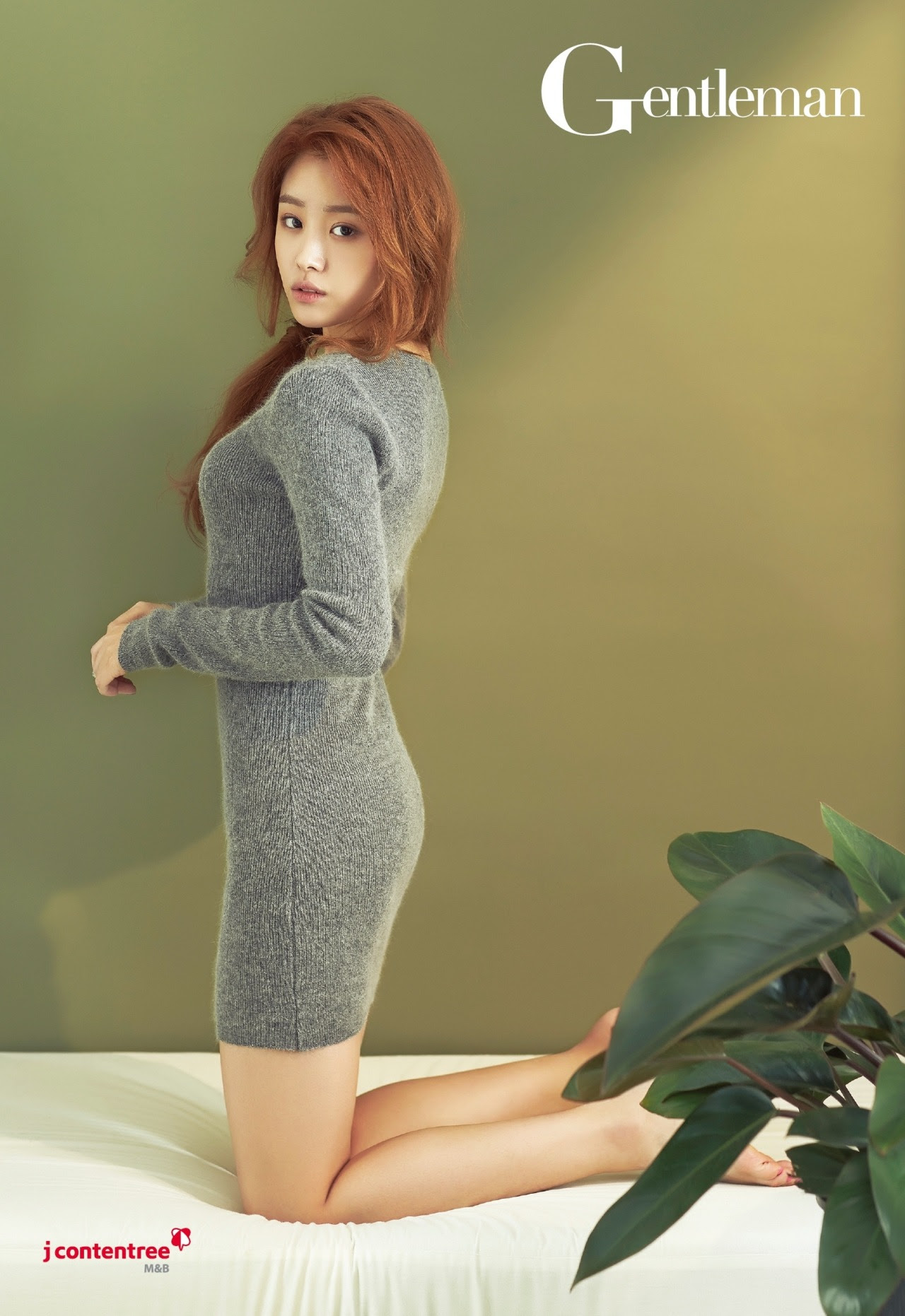 Secret Song Ji Eun - Gentleman Magazine December Issue '14
