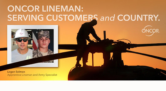 Lineman Trades Power Lines for Military Helicopters