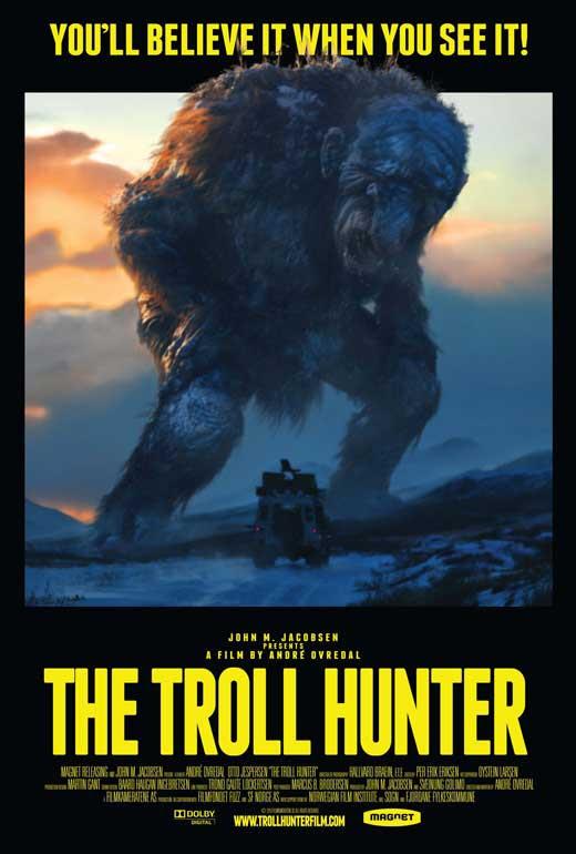 Risultati immagini per the troll hunter poster