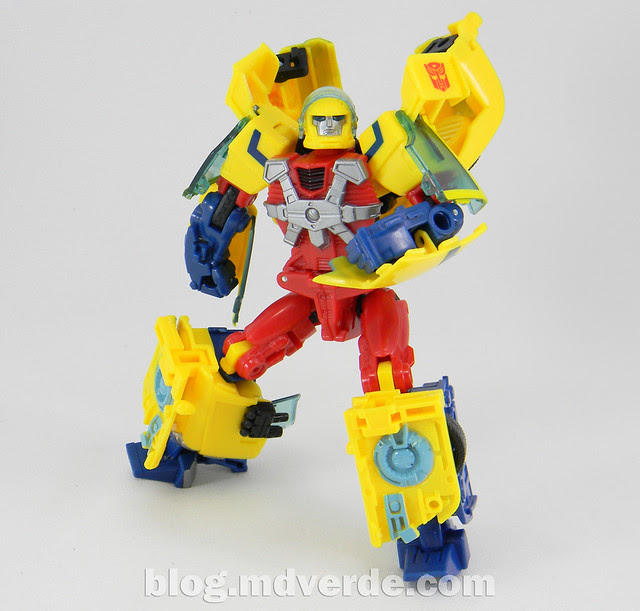 Transformers Hot Shot Deluxe - Universe - modo robot