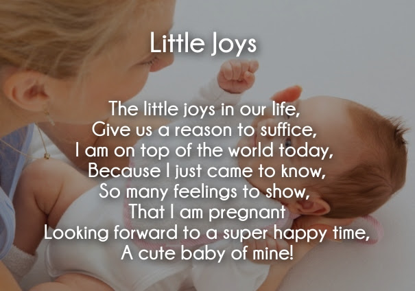 20+ Cute Pregnancy Announcement Poems with Images