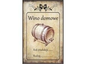 Naklejki Etykiety Na Wino Butelki Dużo Wzorów Na Bazarekpl