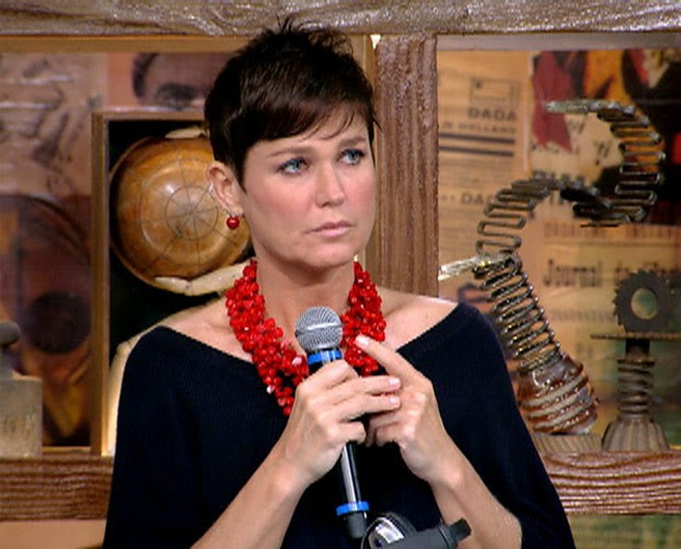 Xuxa em participação no 'Na Moral' (Foto: Na Moral/ TV Globo)
