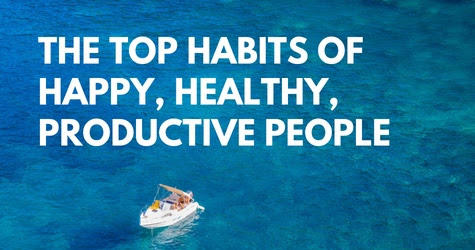 Infographic top habits of happy people - IND Edge Lite