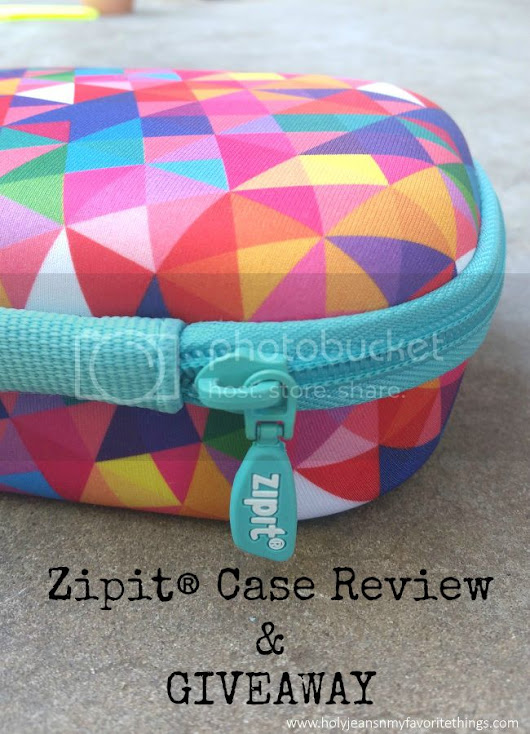Zipit Colorz Box Storage Case #Review & #Giveaway Ends 6/20 - Holyjeans & My Favorite Things