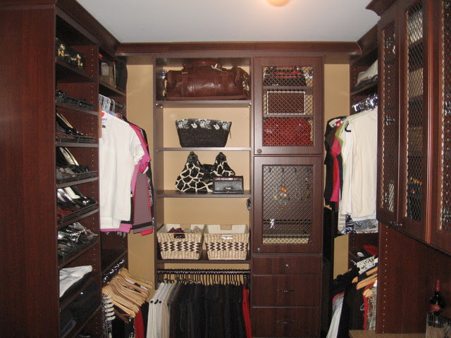 Master Bedroom Walk-in Closet - eclectic - closet - toronto - by Samer