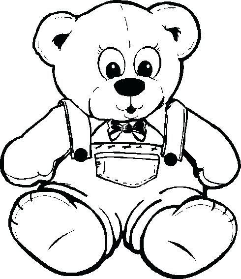 Teddy Bear Drawing at GetDrawings   Free download