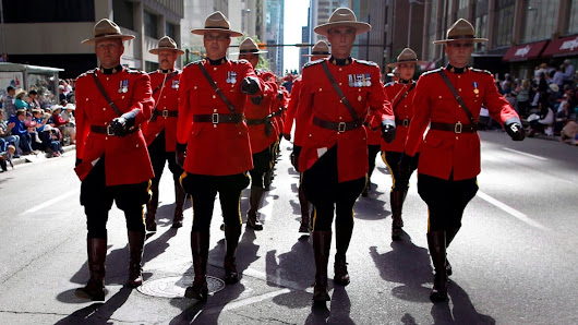 RCMP ditch their yellow stripes in protest