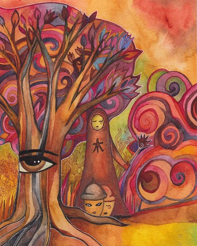 Tree Spirit by megan_n_smith_99