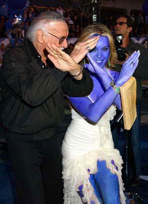 Blue Rebecca Romjin