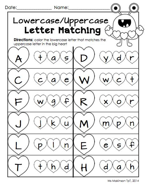 February Printables - Kindergarten Literacy and Math | Literacy ...
