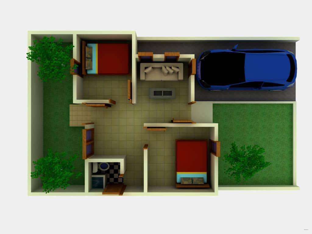 Ide 25+ Desain Interior Rumah Minimalis Type 36 / 72
