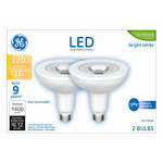 GE Lighting 24271 Medium-Base PAR38 LED Bulb, Bright White, 16W - 2 pack