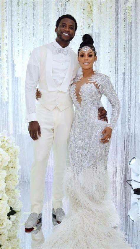 Keyshia Kaoir wedding dress   Walkin down the aisle saying