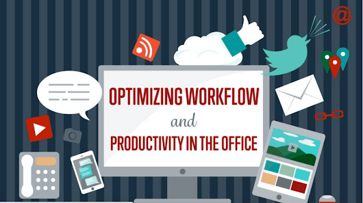 Optimizing Workflow in the Office (Infographic) - OfficeR&D