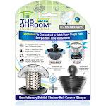 TubShroom Ultra (Stainless) Plus StopShroom Plug Combo for Tub Drains