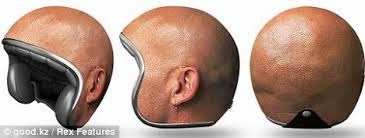 Helm Kepala Botak