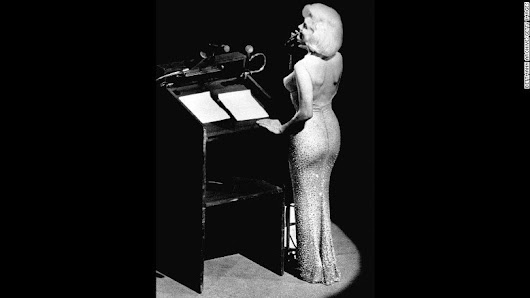 "CNN on Twitter: ""Marilyn Monroe's ""Happy Birthday"" dress is the most valuable piece of clothing ever owned, and it could sell for $3M  """
