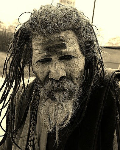 The Naga Sadhu by firoze shakir photographerno1
