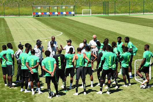 Super Eagles Resume Training At Essentuki - Latest football news in Nigeria - Footballlive