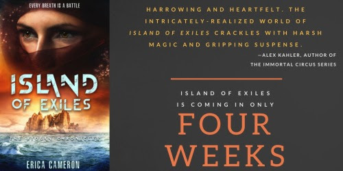 Somehow, Island Of Exiles is only one month away….