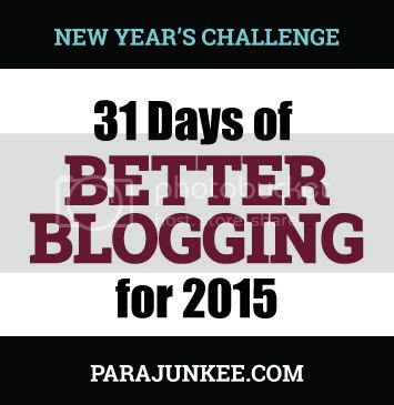 31 Days of Better Blogging