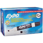 EXPO Low Odor Dry Erase Markers, Select Color (Chisel Tip)