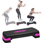 Nicole Miller Aerobic Adjustable Stepper Platform