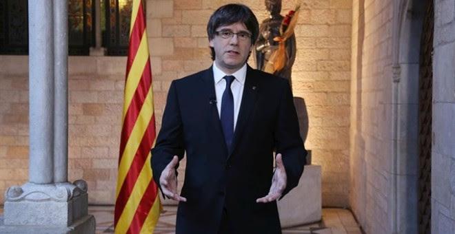 El presidente catalán, Carles Puigdemont /EUROPA PRESS