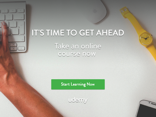 All Courses on Udemy are up to 90% off until 10/10