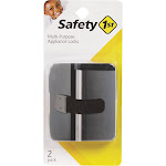Safety 1st Stainless Steel Multi-purpose Appliance Locks - 2 pack