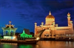 brunei-royal-islamic-mosque-lagoon-ceremonial-ship