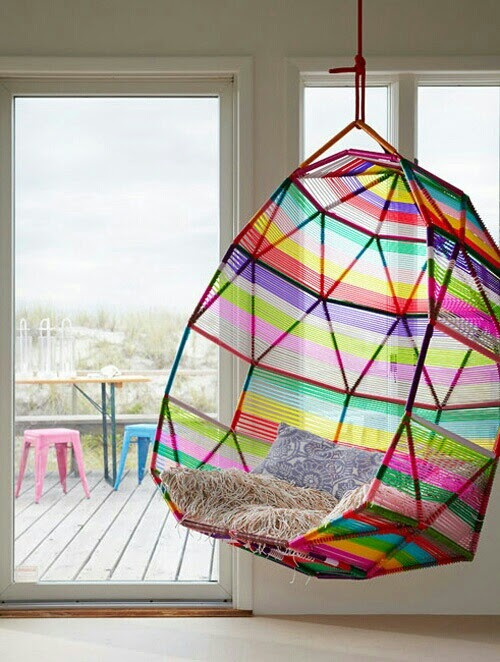 Hanging chair !
