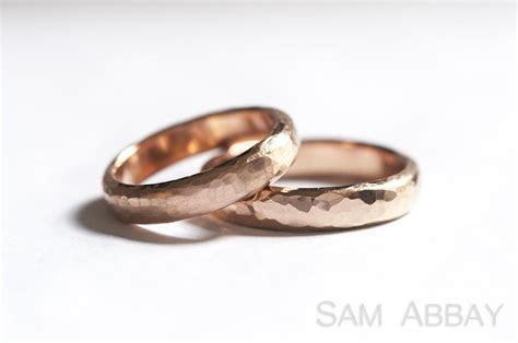 Hammered Bands ? New York Wedding Ring