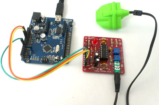 PC-based heart rate monitor using Arduino and Easy Pulse sensor  :Embedded Lab