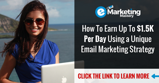 How To Earn Up To $1.5K Per Day Using a Unique Email Marketing Strategy