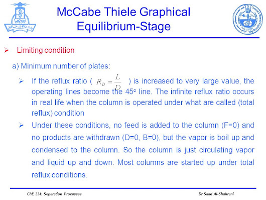 McCabe Thiele Graphical Equilibrium-Stage -  ppt download