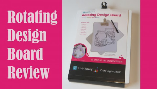 Product Review: Rotating Design Board – Stamping