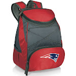 Picnic Time PTX Backpack Cooler - New England Patriots - Red
