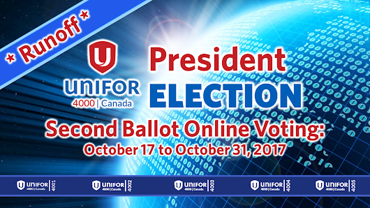 Second Ballot Election for President of Unifor Council 4000