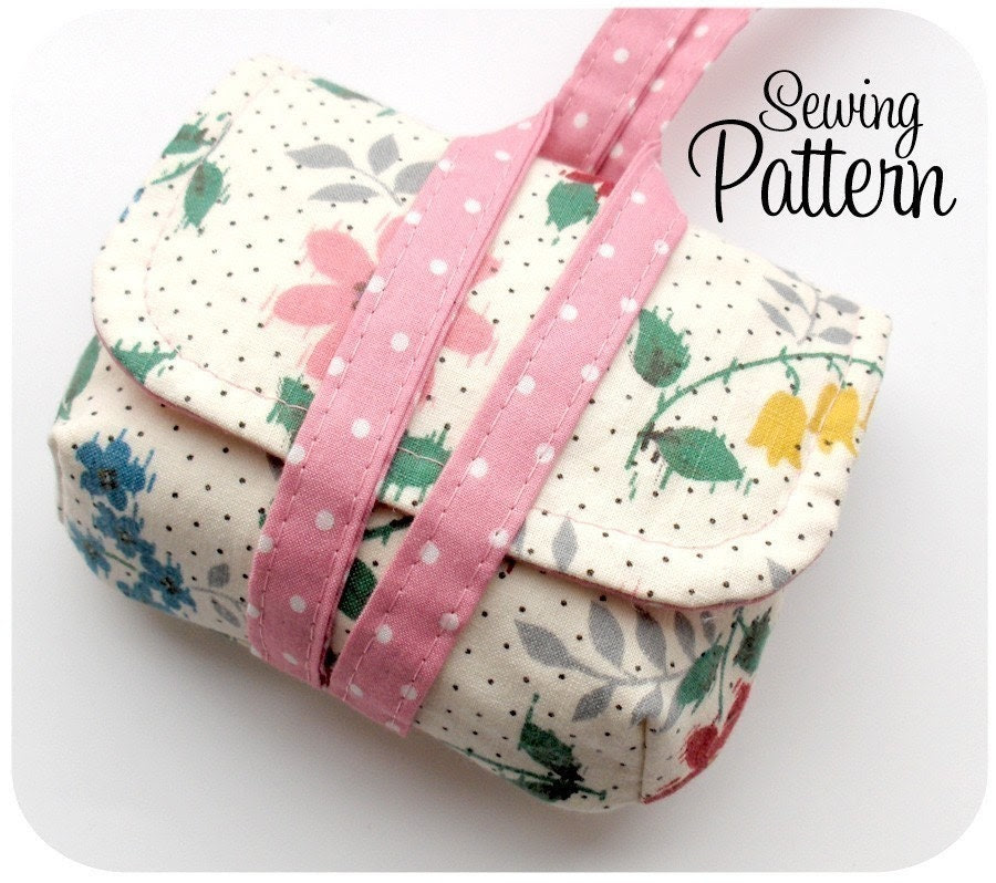 Camera Case Wristlet PDF Sewing Pattern